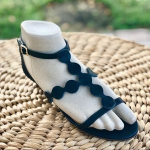 Talbots  Sandals - Navy - Size: 7 1/2